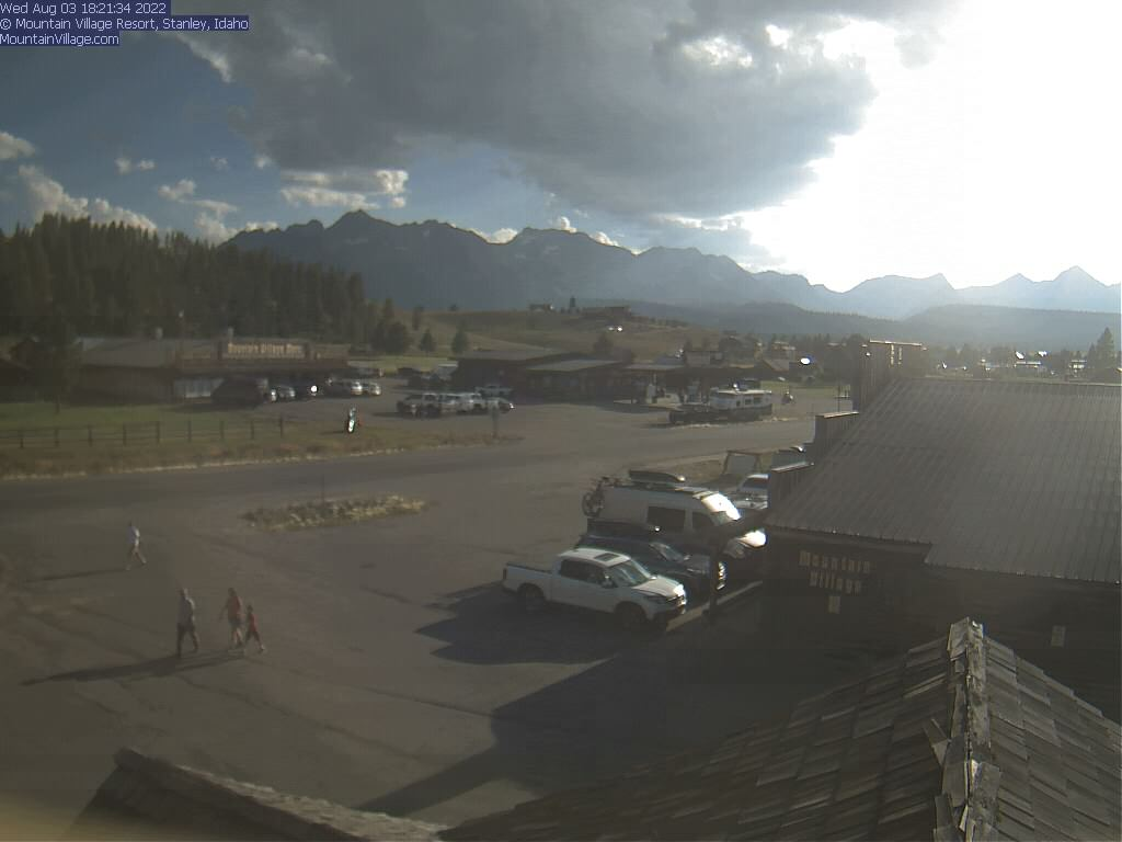 check out our webcam! - mountain village resort - stanley, idaho